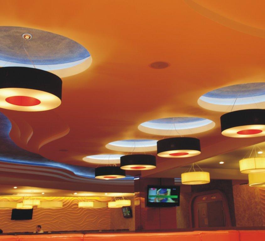 Klubo restorano interjeras